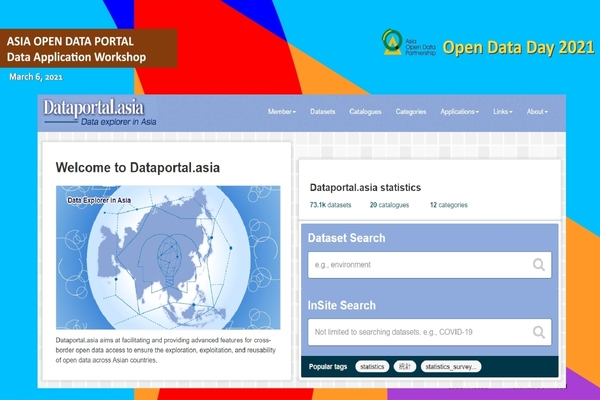 Asia launches first official open data portal