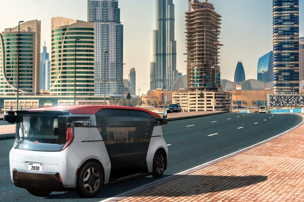 Operation of the self-driving vehicles will start with a limited number of vehicles in 2023