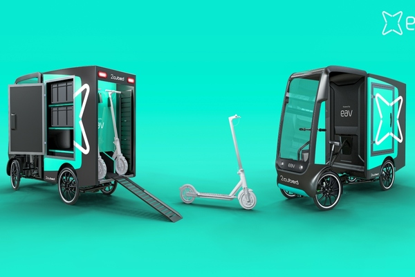 Micro-mobility companies co-design commercial vehicle