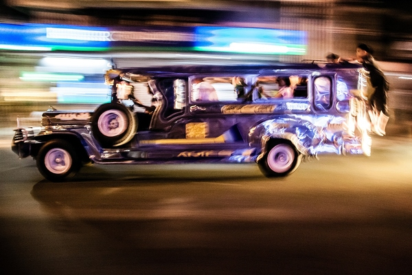 The digital payments programme covers the city's famous jeepneys