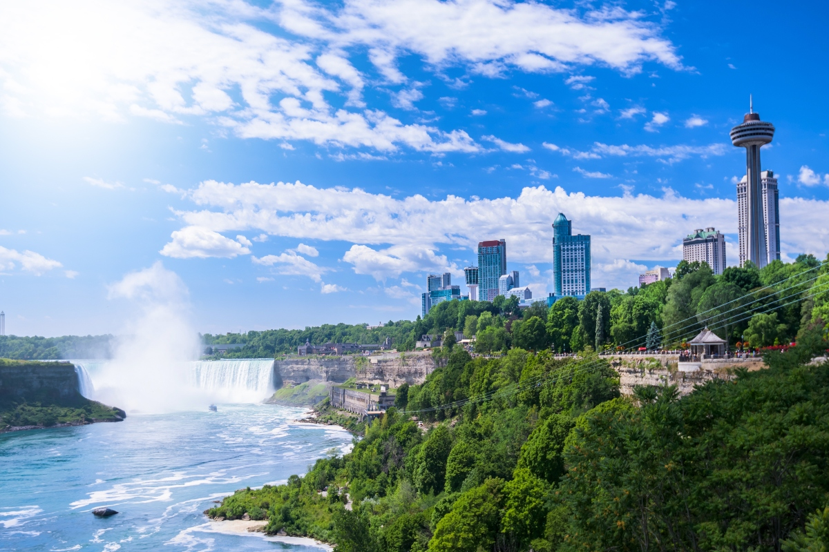 Rogers 5G service has been extended to include Niagara Falls