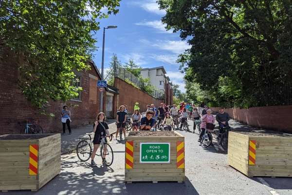 Work begins on Greater Manchester's active neighbourhoods