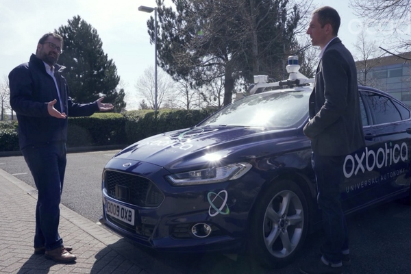 UK grocery platform invests in autonomous vehicle company