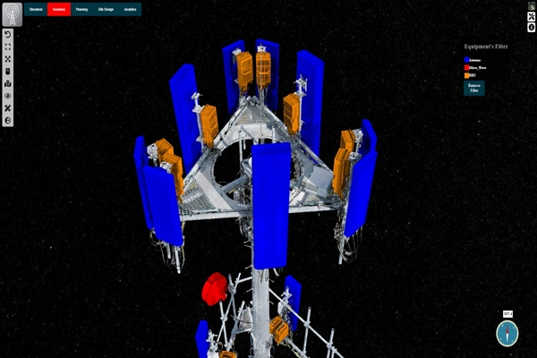 Digital twin solution launched to visualise and support 5G telecom towers