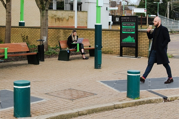 Pavegen wants to engage the 1.75 million community travelling to and from Leighton Buzzard