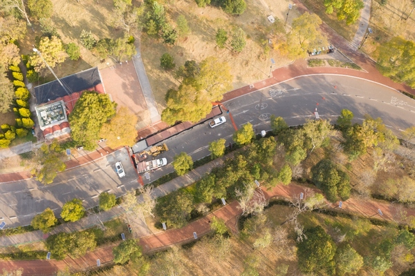 Mexico City pilots climate-adaptive cycle path built from plastic waste