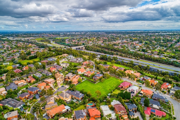 Service can be used by those living in suburban areas of Rowville (above) and Ferntree Gully