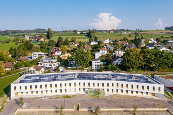 Zero-energy office building that adapts to the climate opened in Switzerland