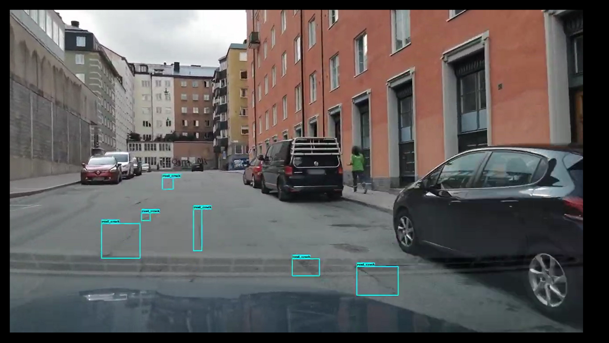 Univrses' software uses AI to pick up faults on Stockholm's roads