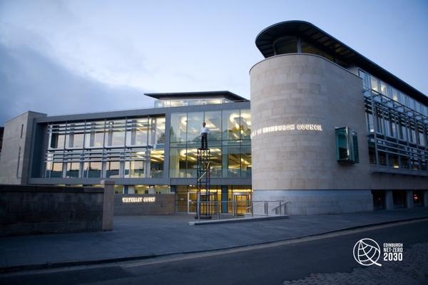 City of Edinburgh Council's Waverley Court building