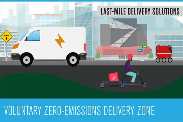 Santa Monica pilot offers an opportunity to showcase the demand for zero-emissions delivery