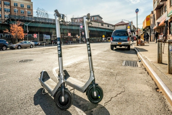 Bird is one of the micro-mobility companies bringing e-scooters to the Bronx