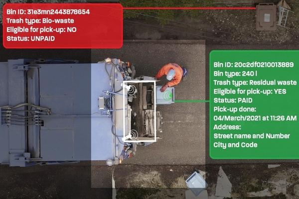 Sensoneo's service combines fleet, management, truck tracking and verification