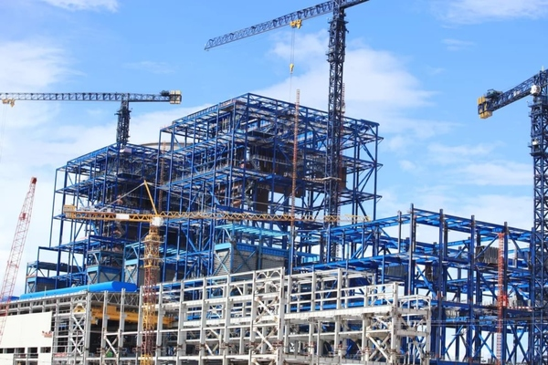 Smart construction technologies are being tested at the Metrogorodok site