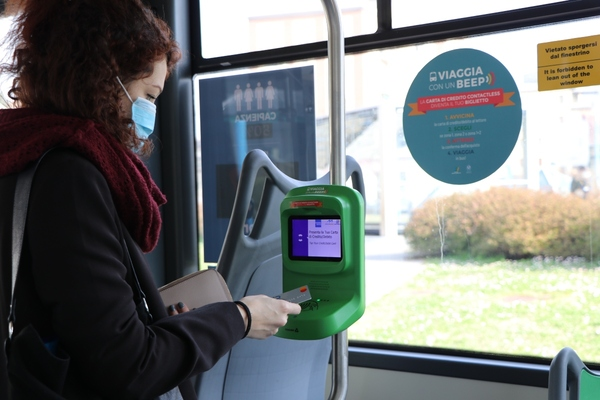 Brescia introduces contactless payment on all buses