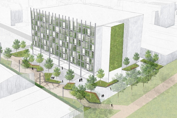 A well-lit walking and cycling link will connect the green into Ancoats