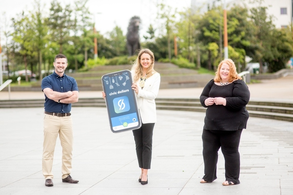 Belfast rewards its citizens for spending time in green spaces