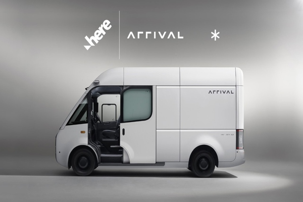 Arrival selects Here SDK for electric vehicle navigation