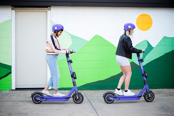 Mobility app to identify location of rideables in Sydney and Canberra