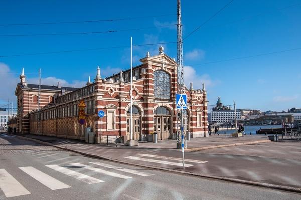 Helsinki's Old Market Hall. Photography: Ville-Samuli Rantalainen
