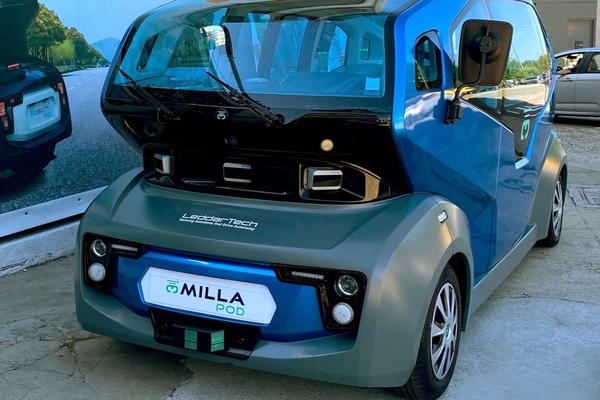Milla Group selects LeddarTech lidar for autonomous electric shuttle