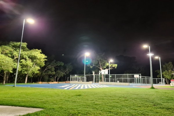 The City of Stirling will be able to vary lighting levels throughout the park