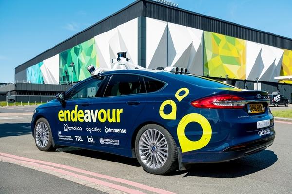 Birmingham hosts live autonomous driving trial