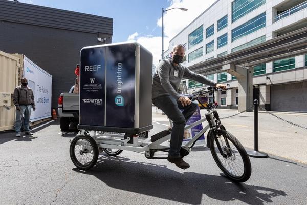 Seattle pilots sustainable last-mile neighbourhood delivery hub