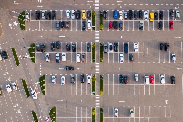 Smart parking sensors and technology detect availability of each individual space