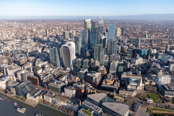 City of London reveals CGI images of the Square Mile's future skyline