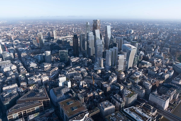Office buildings in the City will remain fit for the future. Image credit: Didier Madoc-Jones of GMJ/City of London Corporation