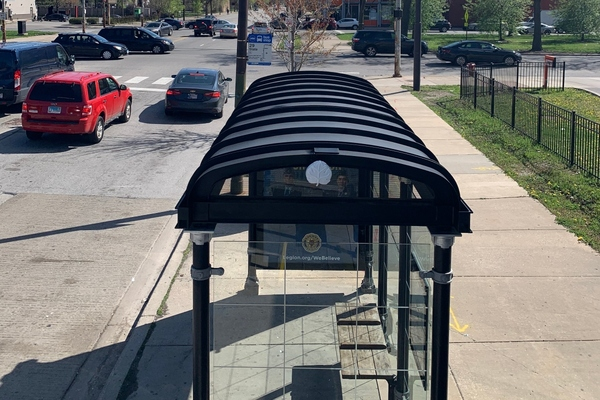 Chicago street furniture used to launch air quality sensing pilot