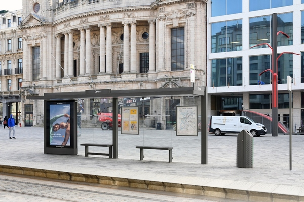 Antwerp awards contract to operate the city's bus shelters