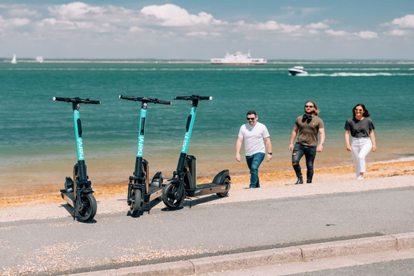 Beryl is expanding its e-scooter offering on the Isle of Wight. Image: Jake Baggaley