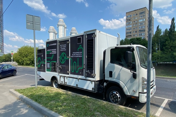 Mobile electric vehicle charging rolls out in Moscow