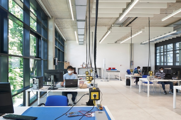 Colab boasts11,000 square metres of usable space Copyright: UnternehmerTUM