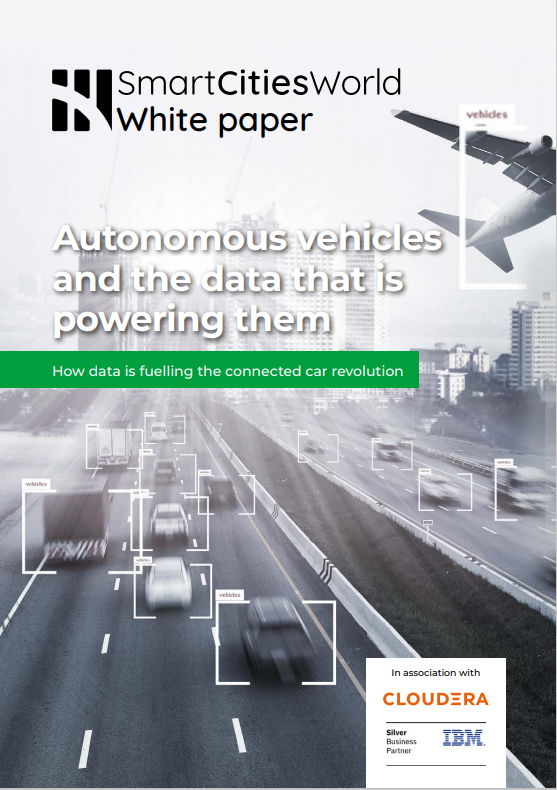 White paper: Autonomous Vehicles and the data that is powering them