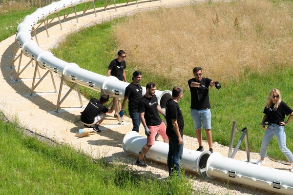 Tthe partners hope the facility will act as a catalyst for the global hyperloop effort
