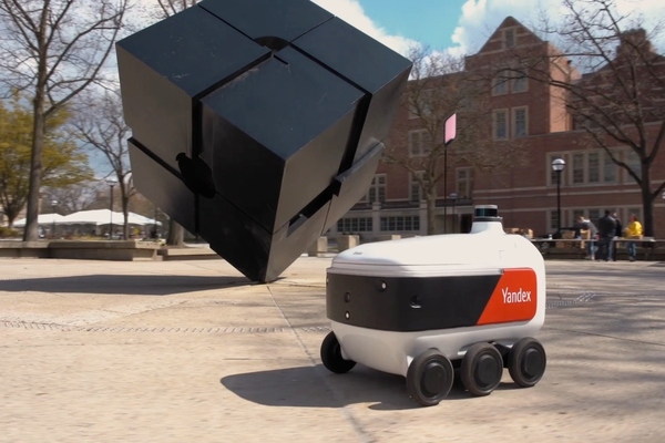 Robots are built on the same technology stack as the company's autonomous cars