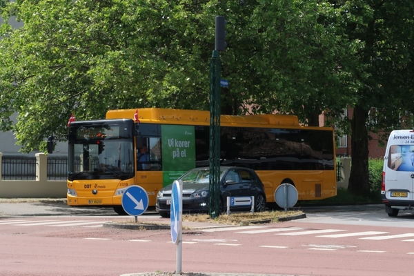 Electric buses begin operating in Copenhagen region