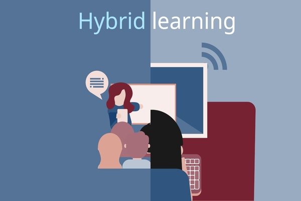 Hybridlearning is about to become the new normal in education
