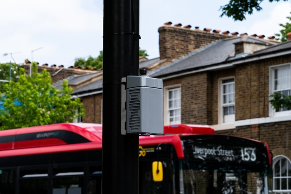 The AirNode sensors will capture hyper-local air quality data every minute