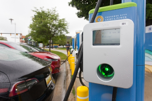 Electric vehicle charging stations deployed across Traverse City