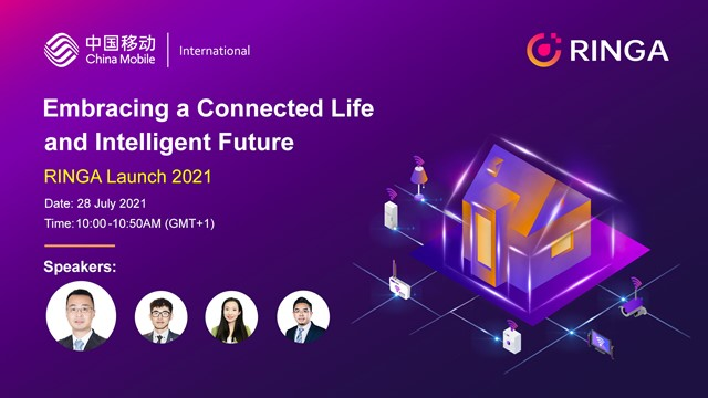 Embracing the connected life and intelligent future, RINGA Launch 2021