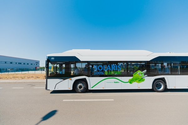 Solaris is supplying the electric buses used in the trial in Oradea