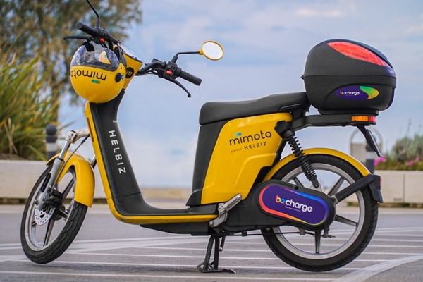 The  MiMoto e-mopeds support the city's commitment to enhance modern mobility