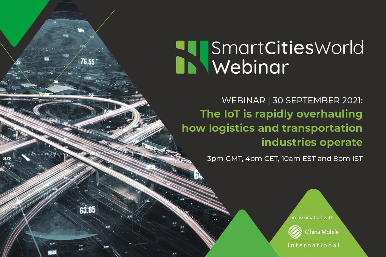 Webinar: The IoT is rapidly overhauling how logistics and transportation industries operate