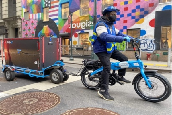 Urb-E making last-mile deliveries in New York City