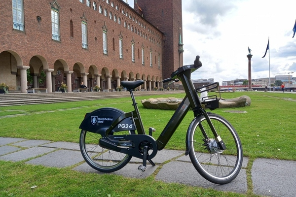 Stockholm launches one of largest public e-bike shares in Europe