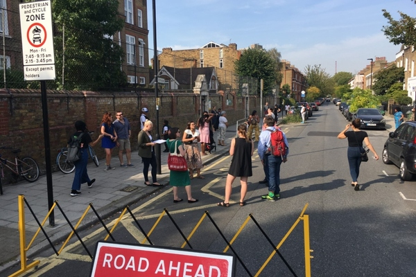 London borough makes school streets healthier and safer